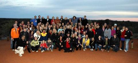 Australian Outback Marathon 2014